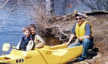 first Wavewalk kayak prototype_2003
