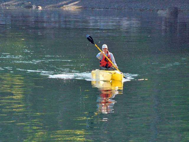 A kayak that's easy to paddle