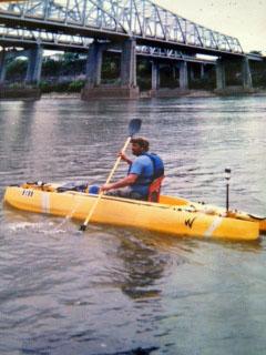 MR 340 endurance paddling