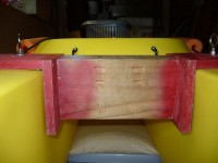 My DIY kayak transom mount for 15″ propeller shaft outboard motor, by John Mitchell – Wavewalk ...