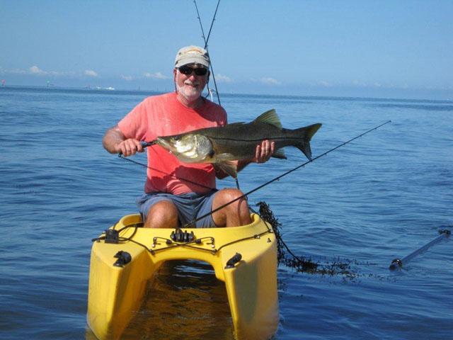 Bob s big snook 010 wavewalk stable fishing kayaks for Fishing kayak for big guys