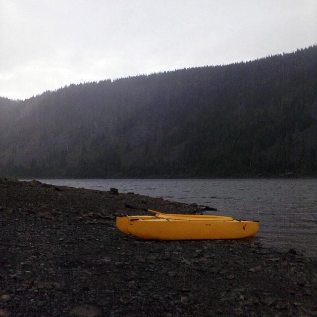 Beached kayak fly fishing trip in laurance lake or for Fly fishing kayak