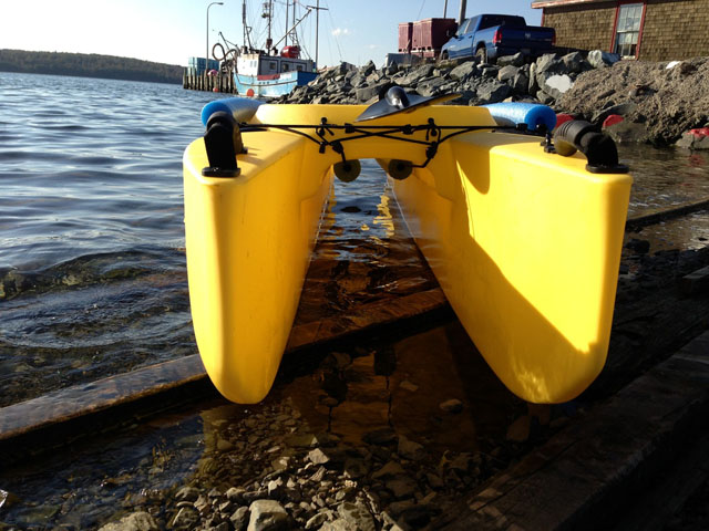Suzuki Outboard Wavewalk Fishing Kayaks