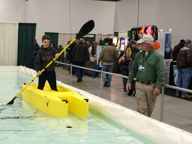 stand-up-kayak-demo-at-pennsylvania-outdoor-sportshow