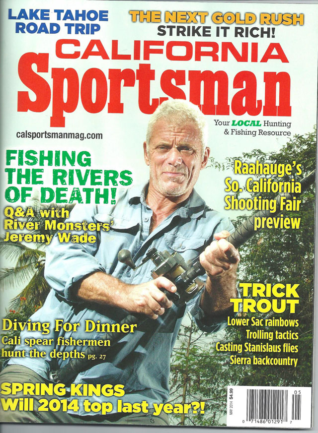 Cover of California Sportsman Magazine