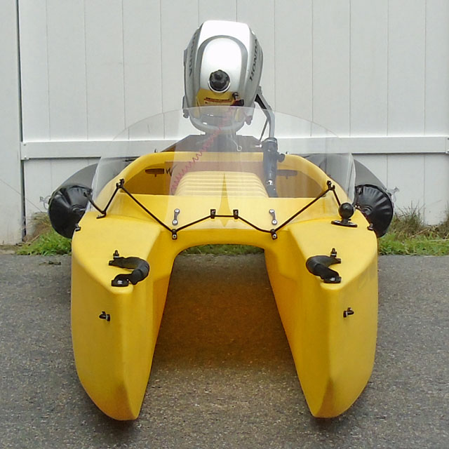 INF-20-motorized-kayak-with-spray-shield-front-view-640