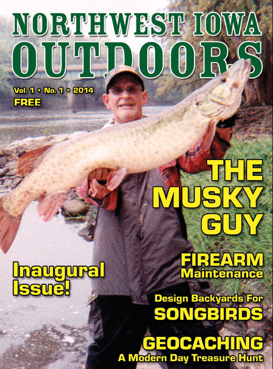 Northwest-Iowa-Outdoors-magazine-cover-the Musky-Guy