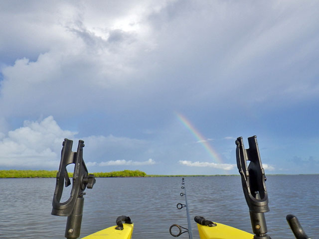rainbow-on-the-water-between-two-rod-holders