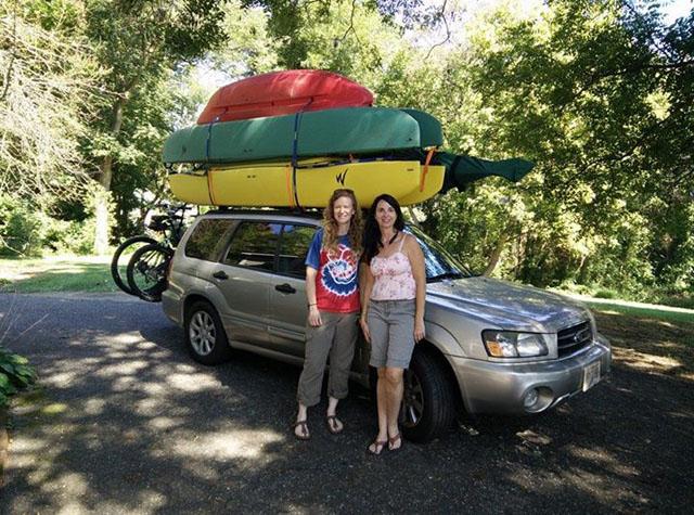 three-kayaks-car-topped-GA