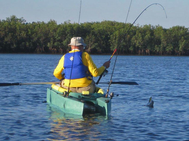 hooked-a-redfish