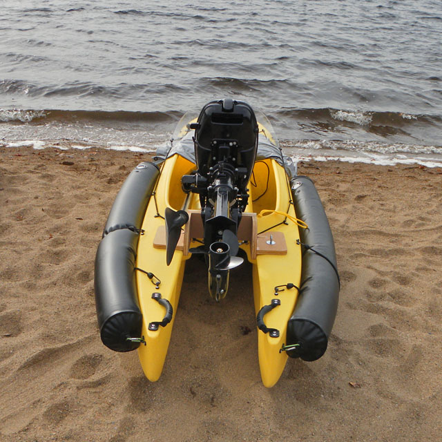 Motorized kayak wavewalk stable fishing kayaks for Most stable fishing kayak