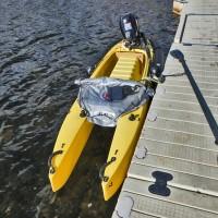 motorized fishing kayak