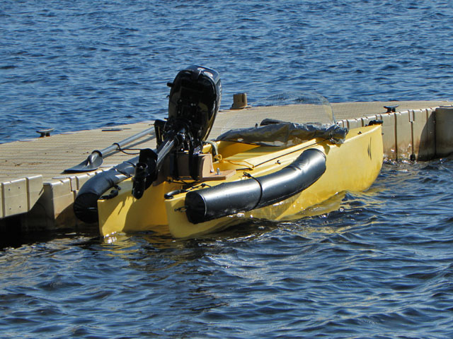 motorized fishing kayak