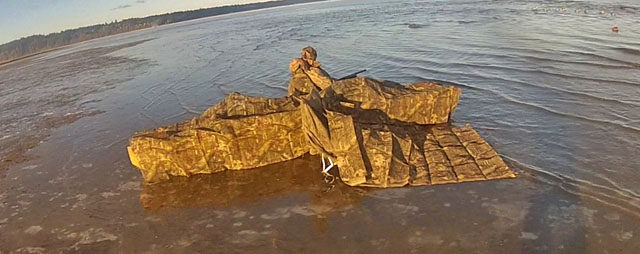 One Cold Duck Hunt Wavewalk 174 Stable Fishing Kayaks