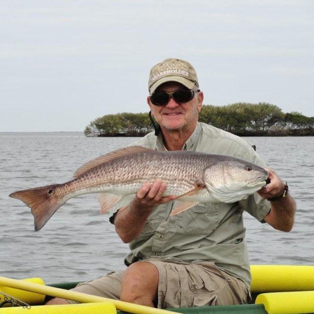34 inch redfish caught near Bear Island FL