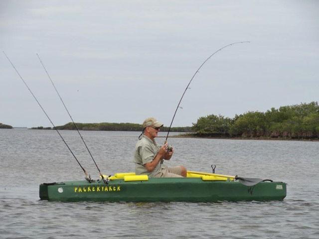 fighting a big redfish