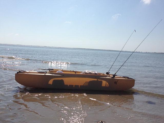 my Wavewalk fishing kayak