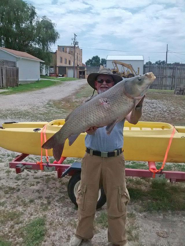 big-carp-37-inch-40-lbs-caught-bow-fishing