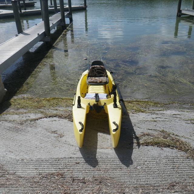my-w500-fishing-kayak-at-the ramp