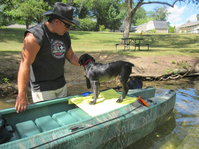 wilson-on-the-kayak's-dog-platform
