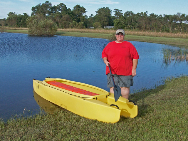Jill-standing-by-her-new-Wavewalk-700-fishing-kayak