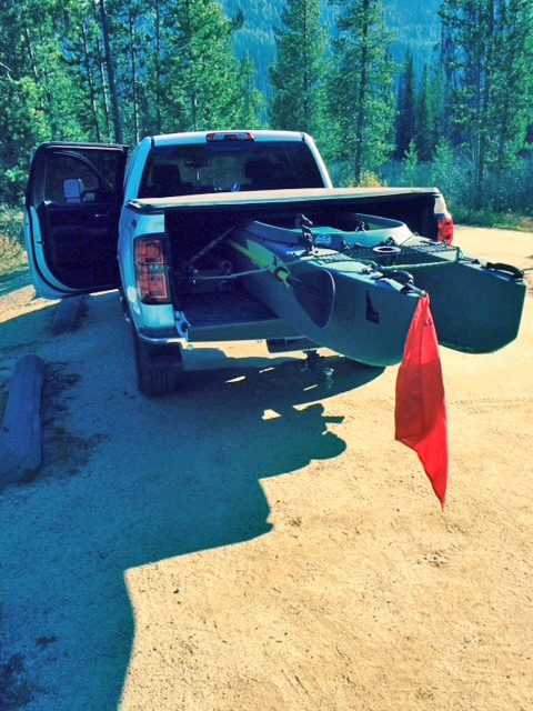 kayak-on-pickup-truck-bed-Idaho