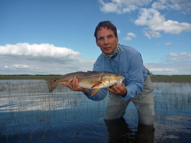 redfish-caught-after-push-poling-in-tidal-flood-grass