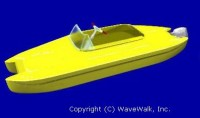 Personal catamaran in a 'Personal Watercraft' (PWC) version 2005-6
