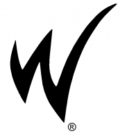 W big logo with R