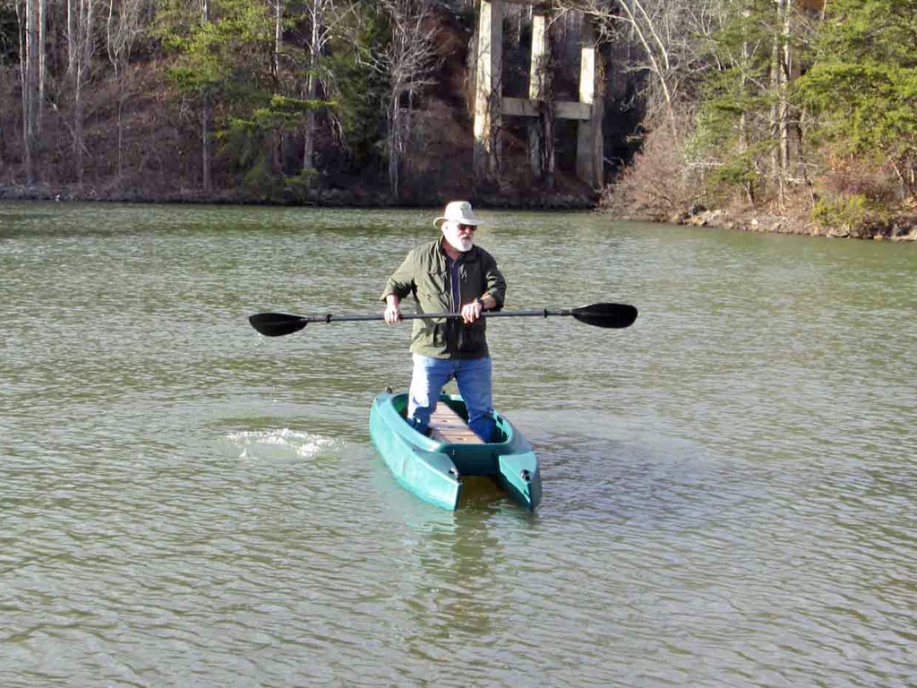 big-guy-paddling-standing-in-his-W700-fishing-kayak-NC