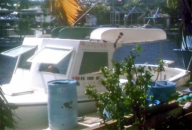 two-fishing-kayaks-on-top-of-mother-ship-Key-Largo, FL