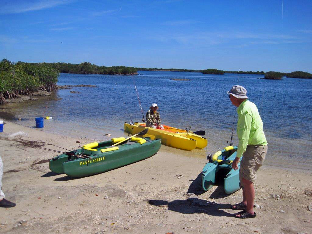 Art-in-the-foreground-and-Jai-in-the-background-two-elderly-kayak-fishermen-FL
