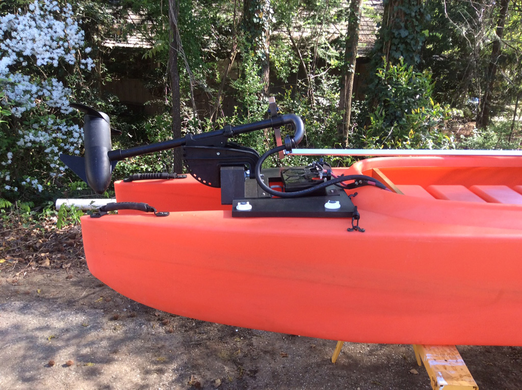 My W500 Diy Electric Fishing Kayak Wavewalk 174 Stable