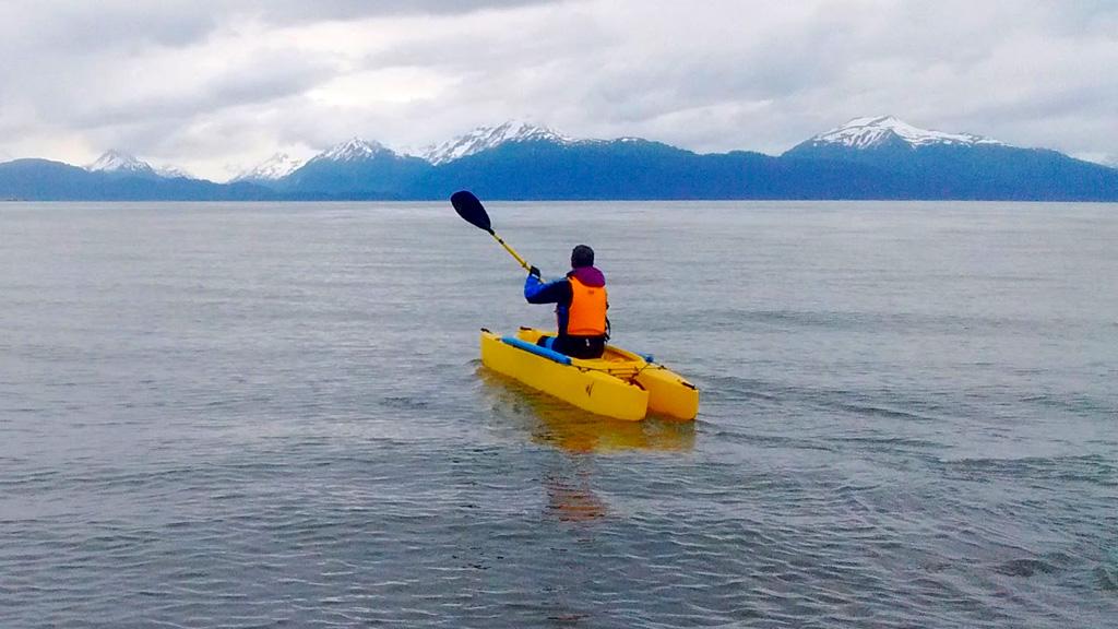 Kayak fishing with disabilities