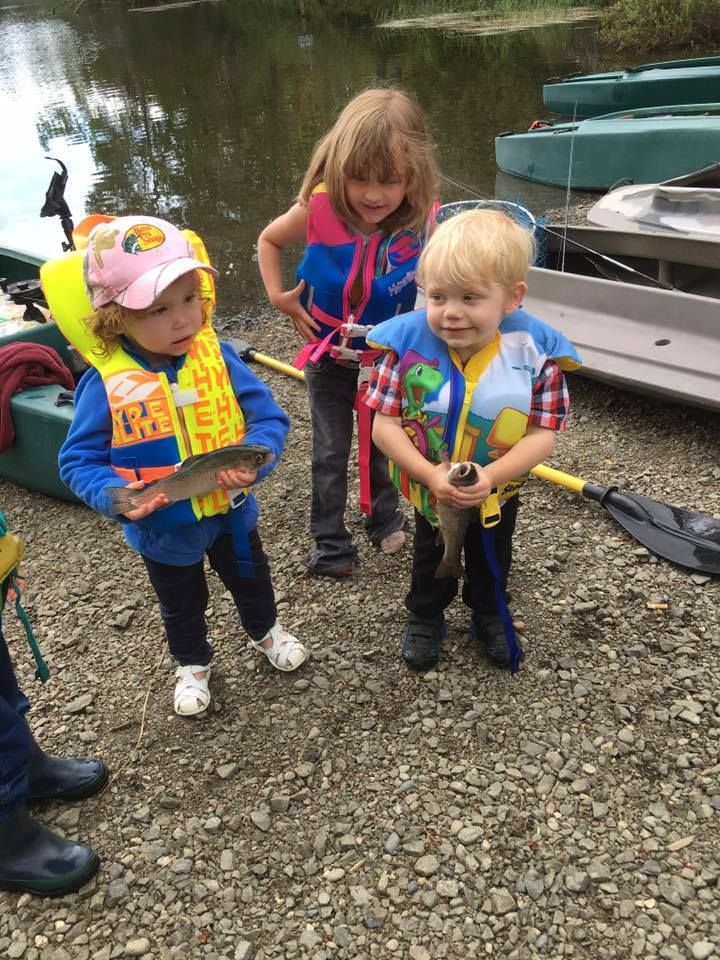 very cute anglers and the fish they caught