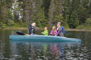 Review of Wavewalk 700 as a fishing boat and tandem kayak for the family and children