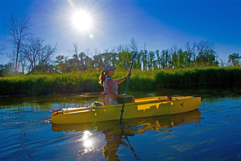 Jeanne-paddling