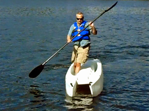 The world's most stable kayak