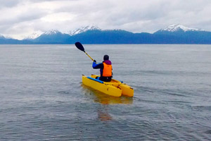 Staying ahead of Multiple Sclerosis and enjoying the beauty of Alaska's coast line