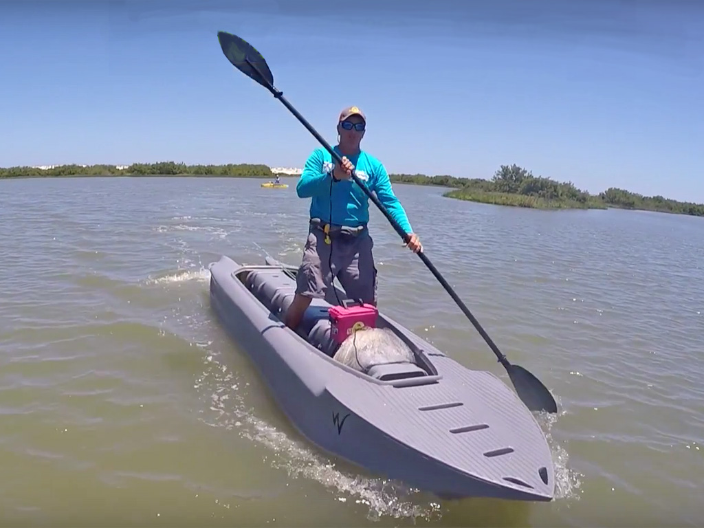 Wavewalk series 4 review and testing st augustine for Fishing kayaks reviews