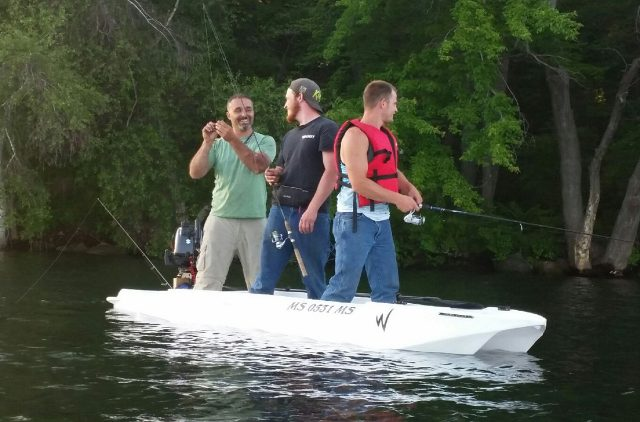 The world's most stable small boat / microskiff