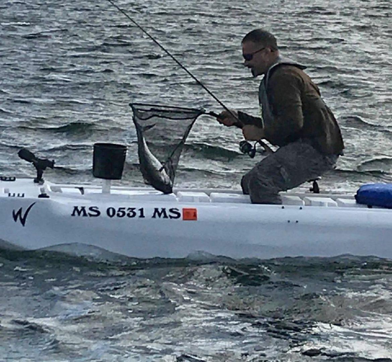 Albacore fishing from my Wavewalk S4