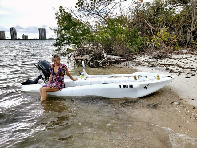 Shallow Water Boats >> Boat for waterfront property – Wavewalk® Stable Fishing Kayaks, Portable Boats and Micro Skiffs