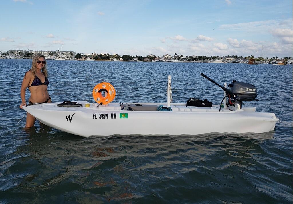 Two Cuties In The Water Wavewalk 174 Stable Fishing Kayaks