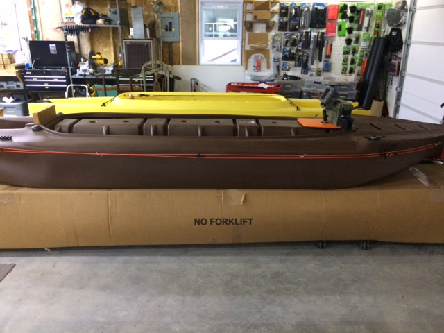 Our new fishing kayak outfitting shop