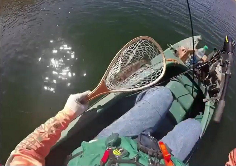 Trout fishing in Idaho – Wavewalk 500 kayak
