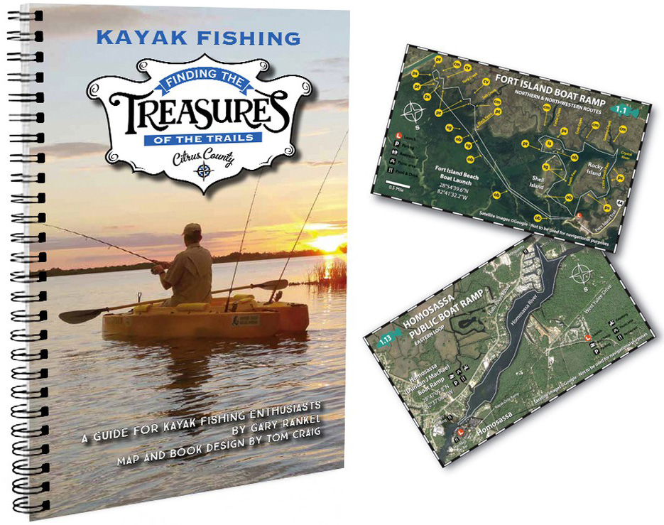 New kayak fishing book by Gary Rankel