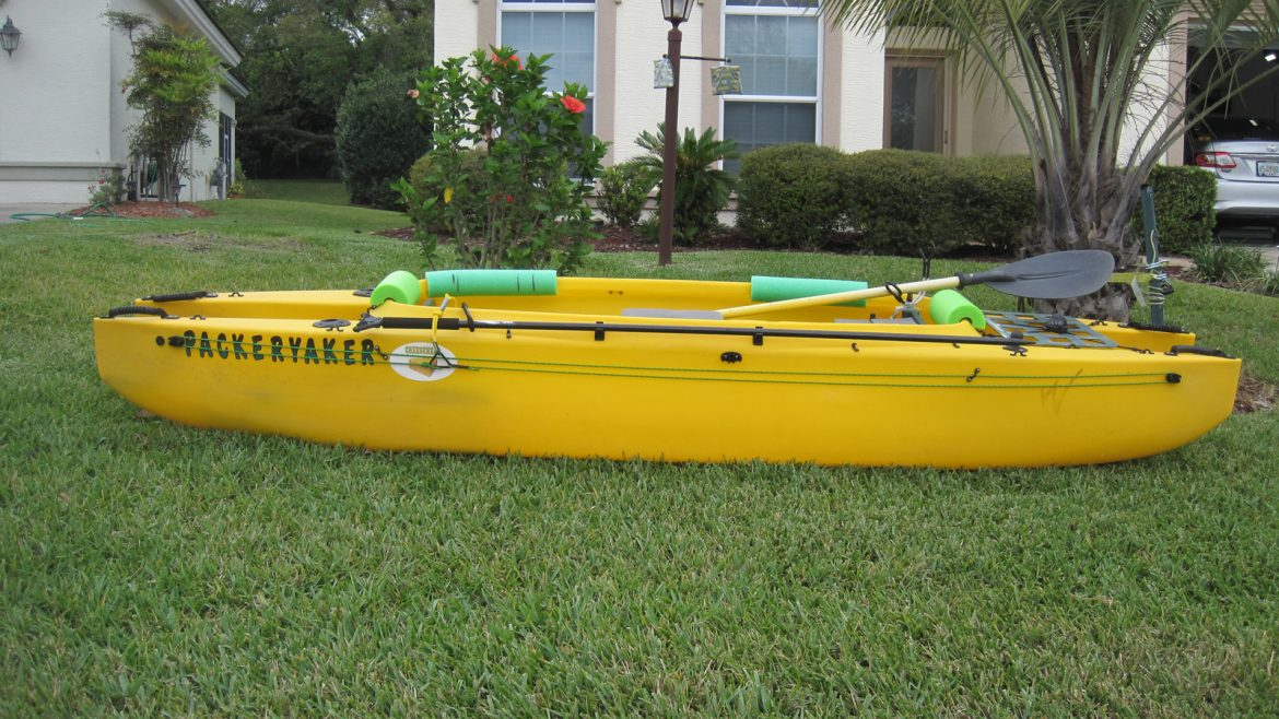 anchor trolley for Wavewalk 500 fishing kayak