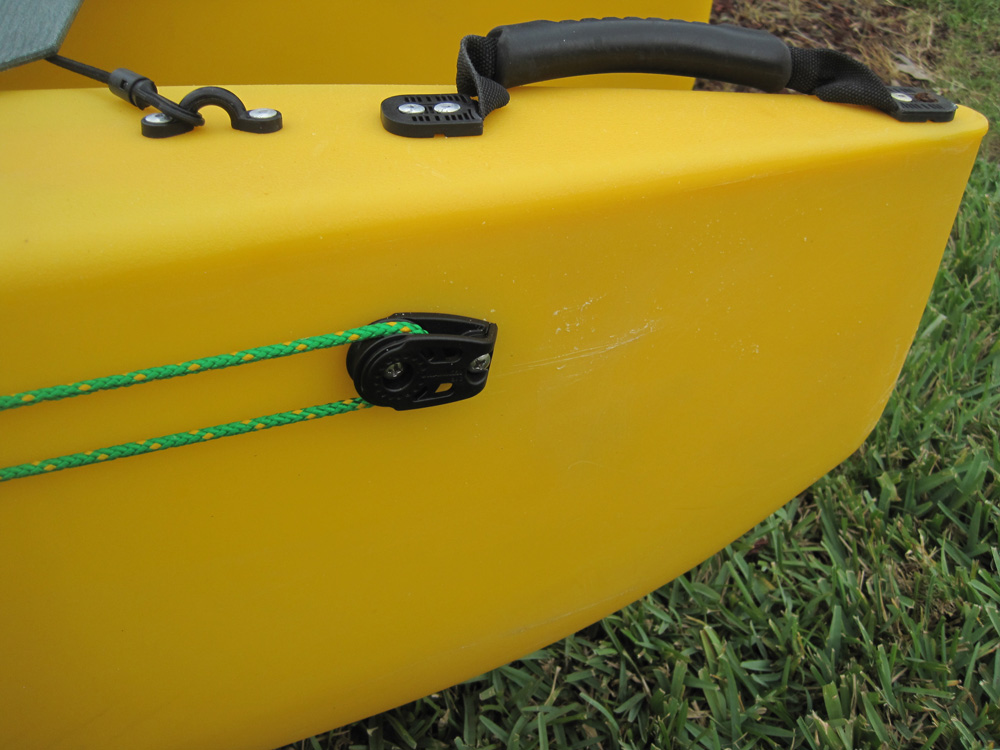 Anchor trolley for my Wavewalk 500 fishing kayak – Wavewalk