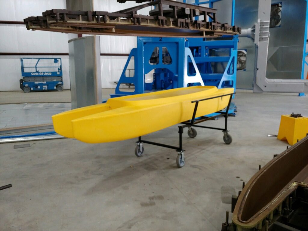 Wavewalk 700 kayak molded in SC